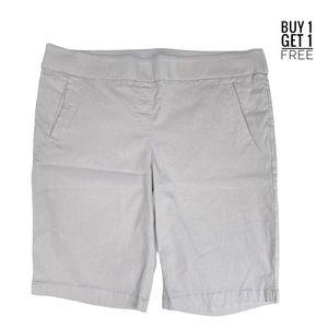 Kim Rogers Curvy Fit Khaki Bermuda Shorts Size 16W
